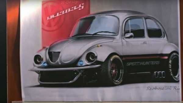 VW beetle with Subaru engine has the performance of the new